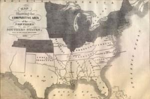 Confederate Map