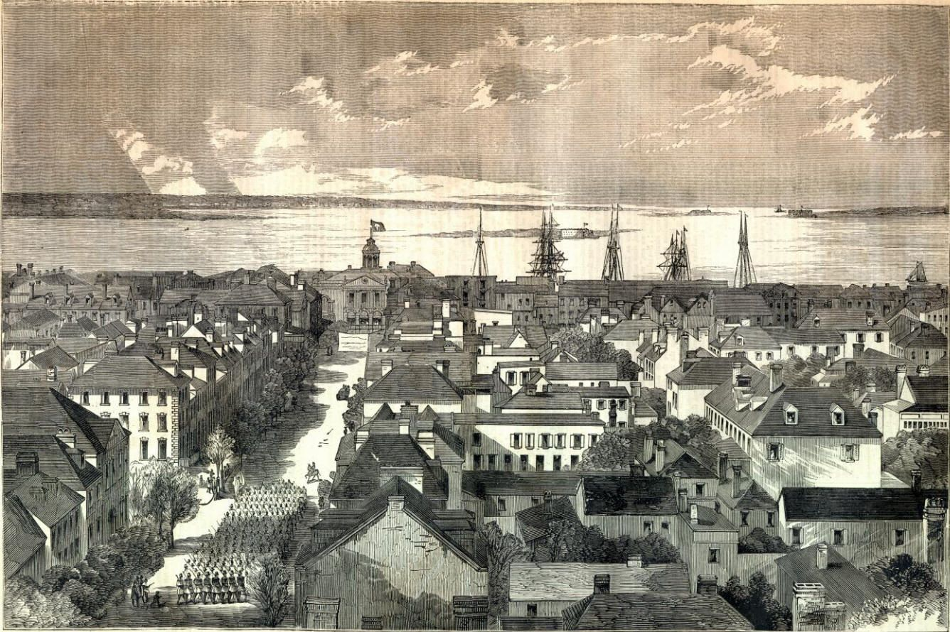 Charleston in 1861, Prior to the Siege