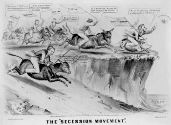 essays on secession in 1861 The secession of the southern states from the union led to the civil war, possibly the bloodiest battle in american history many factors such as different.