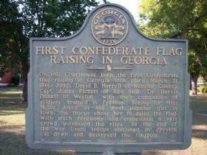 Preston, Georgia, Historical Marker