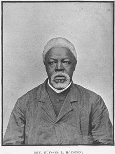 Ulysses L. Houston, Pastor, First Bryan Baptist Church, Savannah