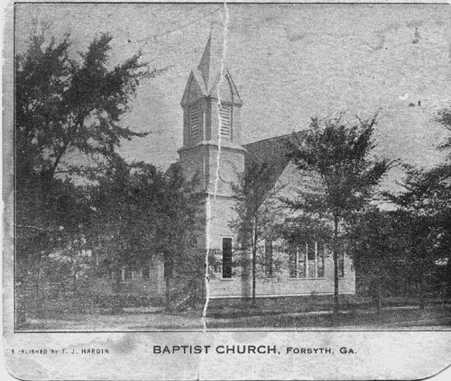 First Baptist Church Forsyth, Georgia