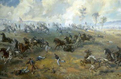 First Battle of Bull Run, Capture of Rickett's Battery
