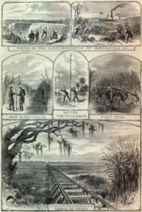 Scenes from Savannah 1862