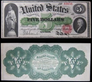First U.S. Paper Money
