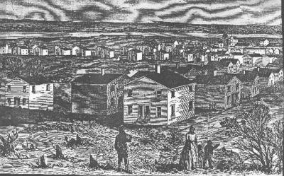 Freedman's Village, District of Columbia (Harpers Weekly, May 1864)