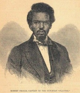 Robert Smalls, from Harper's Weekly, June 14, 1862