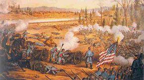 Battle of Murfreesboro, TN -- July 13, 1862