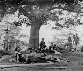 Wounded Confederate Soldiers