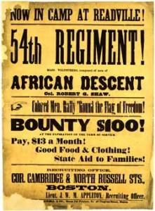 54thmassachusetts_poster