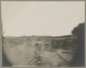 Confederate works seized by the Union's 18th Corps, June 24, 1864