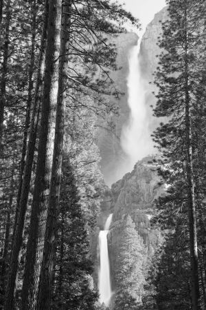 Yosemite Falls by Bruce Gourley, copyright 2014 brucegourley.com
